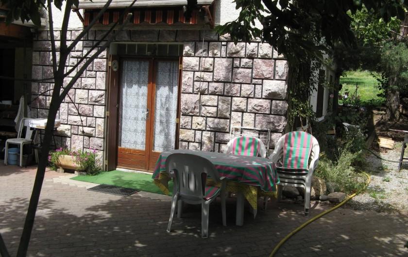 Location de vacances - Appartement à Guillestre - Entrée logement