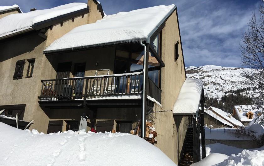 Location de vacances - Appartement à Le Monêtier-les-Bains - Hiver