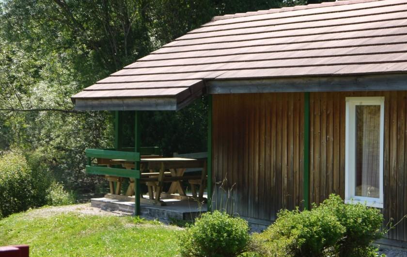 Location de vacances - Chalet à Foncine-le-Haut - Vue d'ensemble
