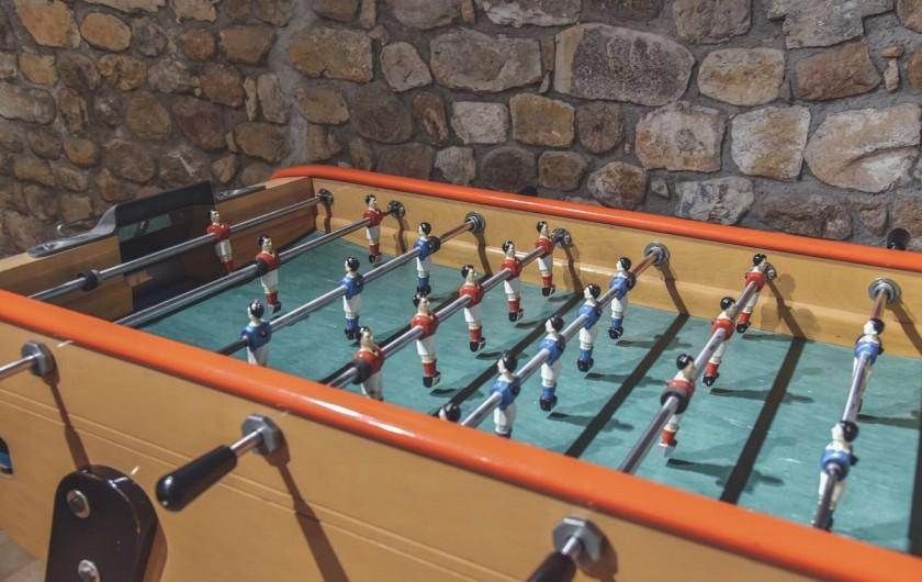 Location de vacances - Gîte à Ruoms - Vue sur le village de RUOMS