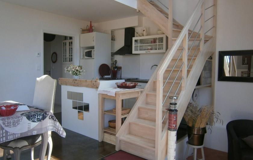Location de vacances - Gîte à Concarneau - cuisine complète
