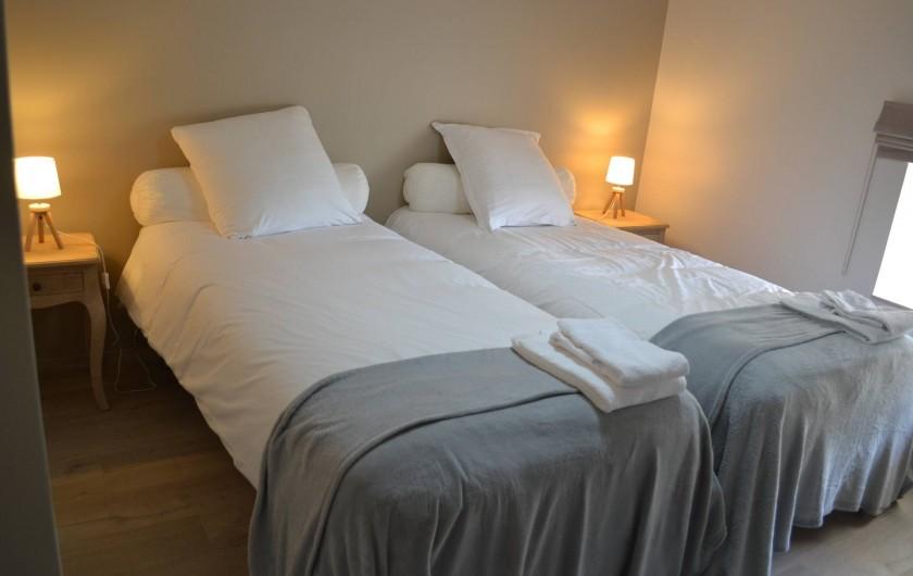 Location de vacances - Gîte à Lougratte - Chambre 2 lits ou 1 lit