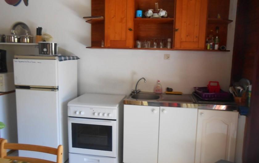 Location de vacances - Chalet à Deshaies - coin cuisine