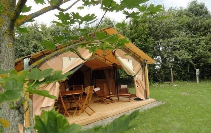 Location de vacances - Camping à Luçon - Ecolodge