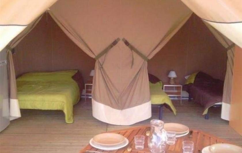 Location de vacances - Camping à Luçon - Chambres Ecolodge