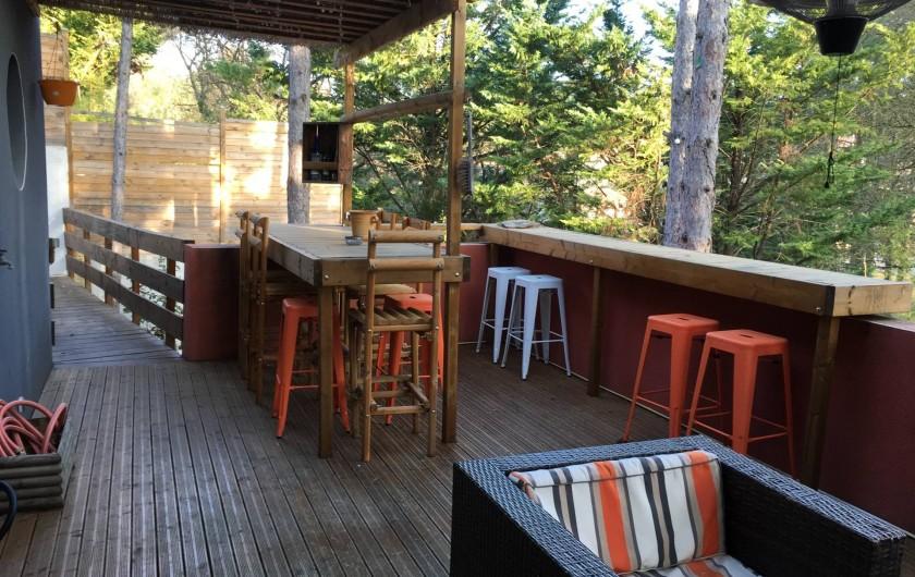 Location de vacances - Villa à Grabels - Terrasse
