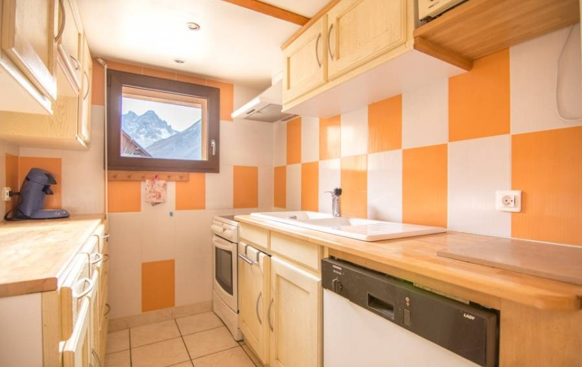 Location de vacances - Appartement à Valloire - cuisine