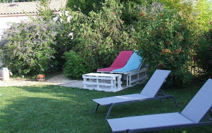Location de vacances - Appartement à La Cadière-d'Azur - bronzage