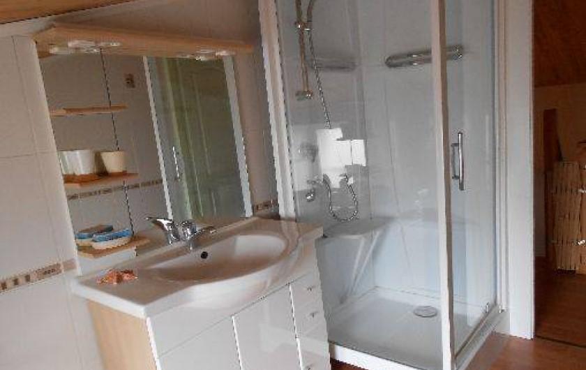 Location de vacances - Maison - Villa à Vergeroux - COIN DOUCHE