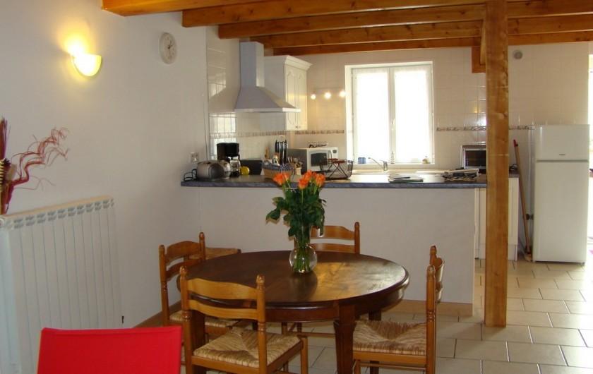 Location de vacances - Maison - Villa à Vergeroux - SALLE A MANGER