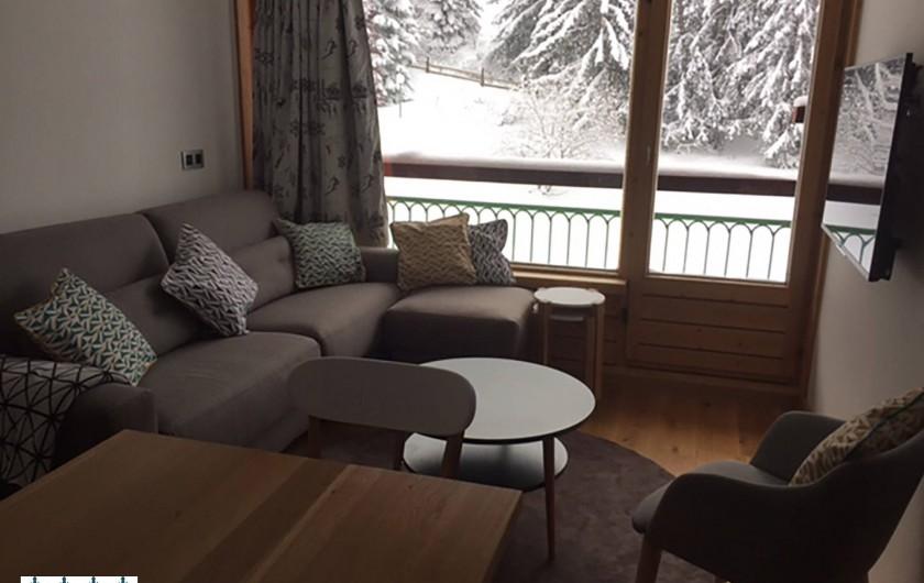 Location de vacances - Appartement à Arc 1800 - Séjour