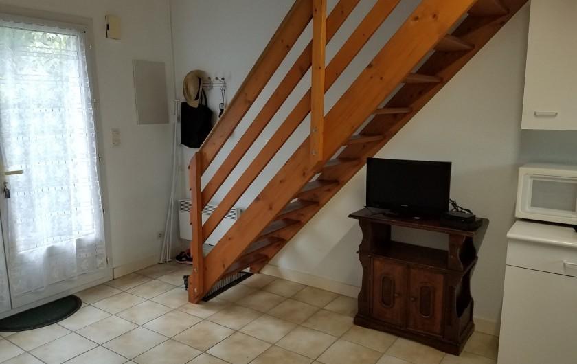 Location de vacances - Maison - Villa à Ronce les Bains - RDC : coté télé