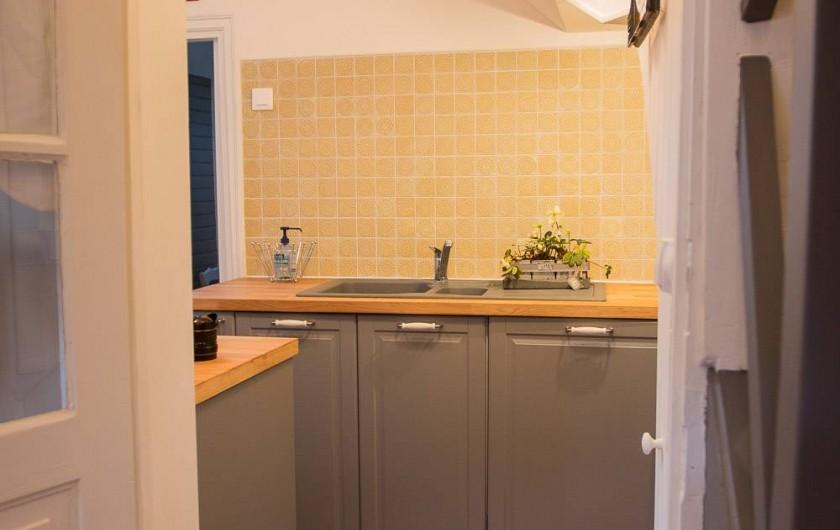 Location de vacances - Chambre d'hôtes à Veules-les-Roses - La cuisine.