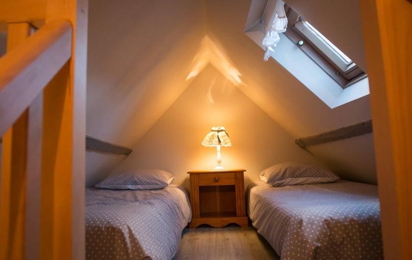 Location de vacances - Chambre d'hôtes à Veules-les-Roses - La chambre pour les enfants.