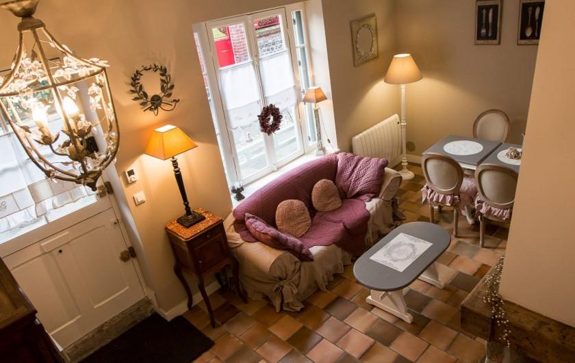 Location de vacances - Chambre d'hôtes à Veules-les-Roses - L'entrée et le séjour.