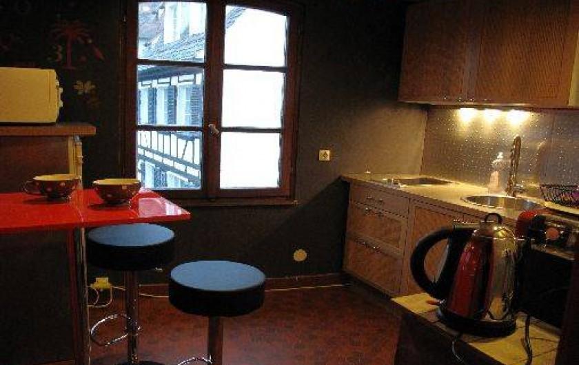 Location de vacances - Appartement à Strasbourg - Cuisine