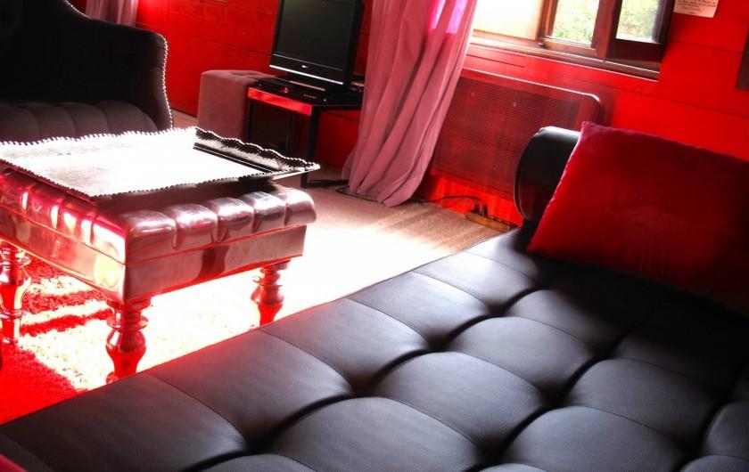 Location de vacances - Appartement à Strasbourg - Détail du salon.