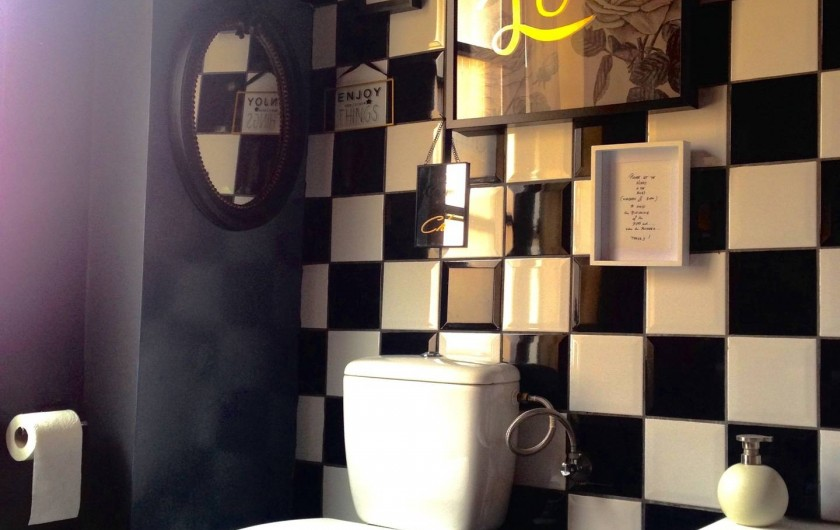 Location de vacances - Appartement à Strasbourg - Salle de bain.