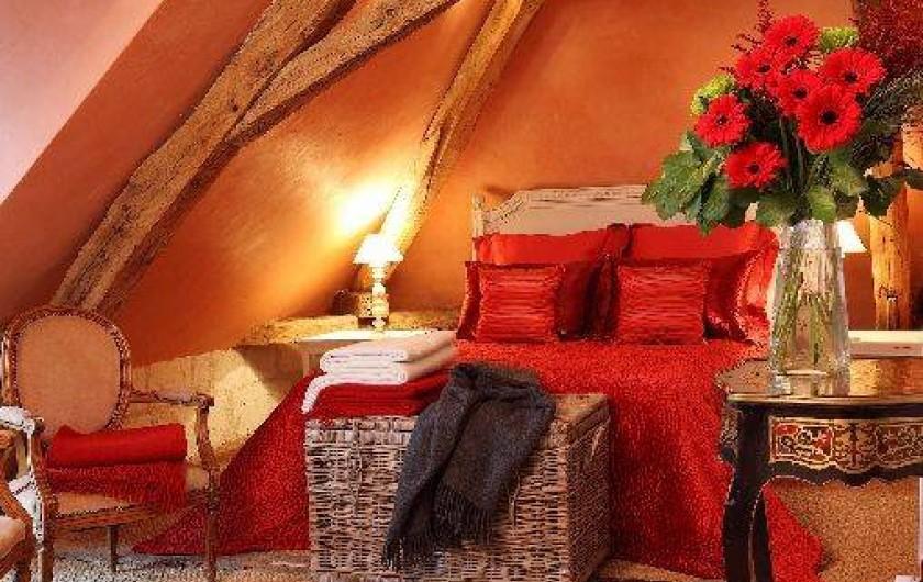 Location de vacances - Villa à Berthenay - Chambre 1 suite parentale