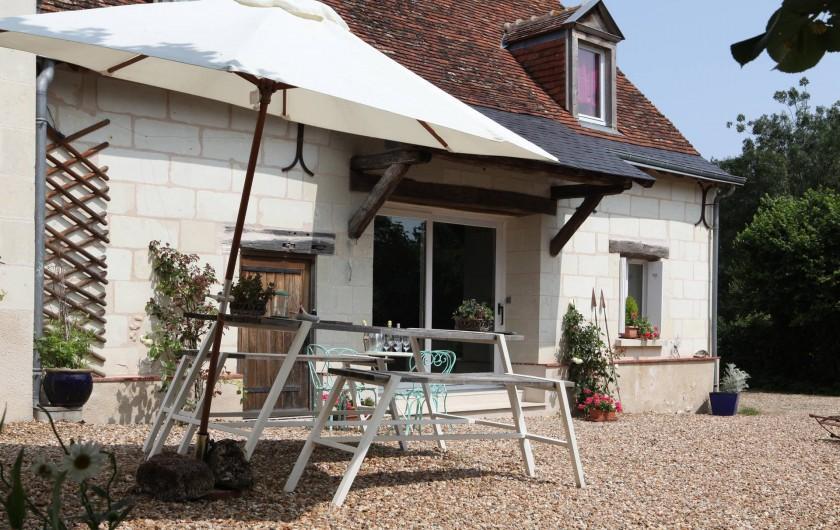 Location de vacances - Villa à Berthenay - Ferme XVIIe Restaurée. Plein Sud