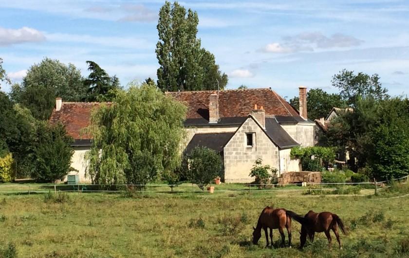 Location de vacances - Villa à Berthenay - Domaine: ferme restaurée et prairie