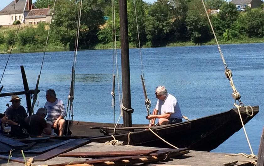 Location de vacances - Villa à Berthenay - Promenades en bateau sur le CHER