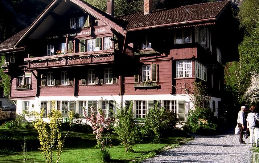 Location de vacances - Appartement à Interlaken