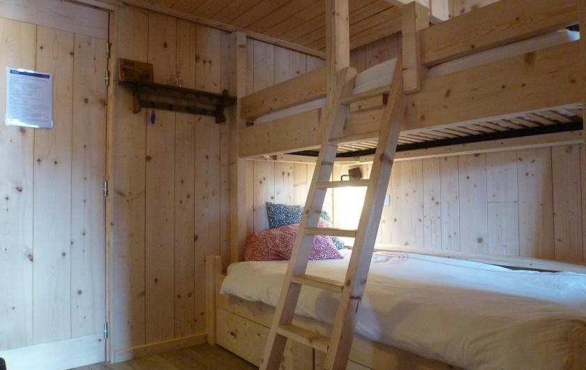 Location de vacances - Studio à L'Alpe d'Huez - Les lits superposés