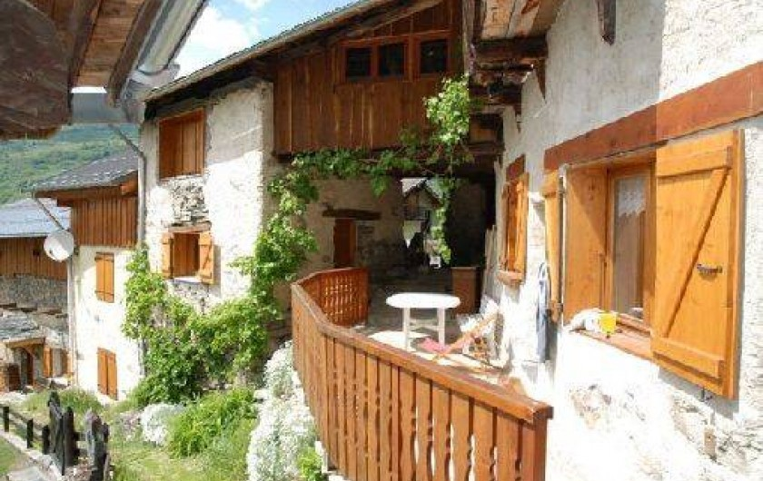 Location de vacances - Chalet à Vallandry