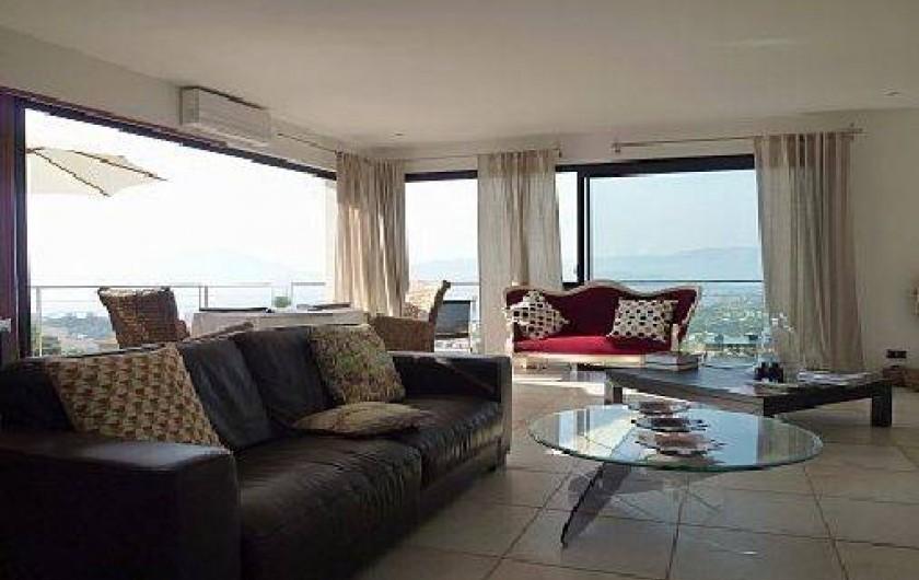 Location de vacances - Villa à Porticcio - salon