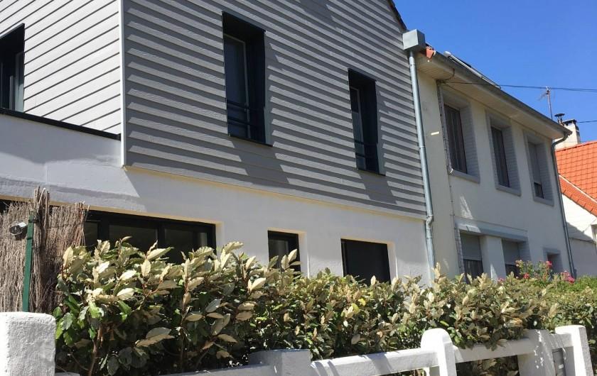 Location de vacances - Villa à Le Touquet-Paris-Plage - Façade rue