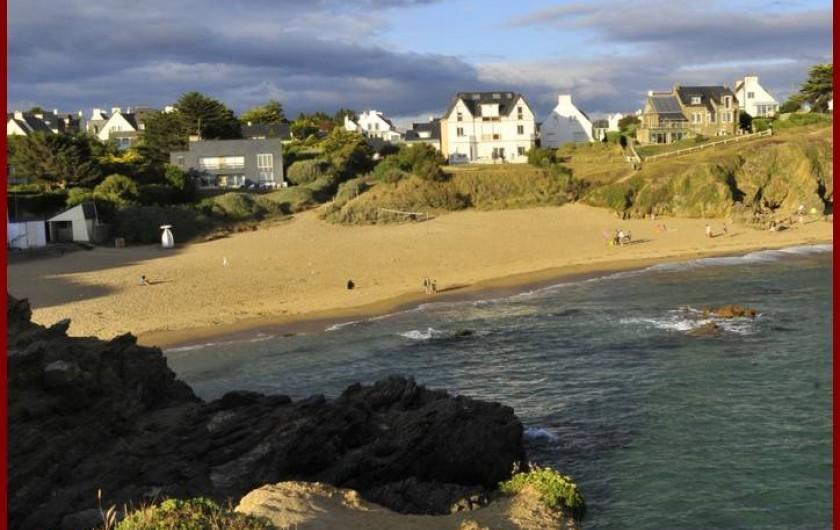 Location de vacances - Gîte à Clohars-Carnoët - La plage du Kerou à 1.5 km