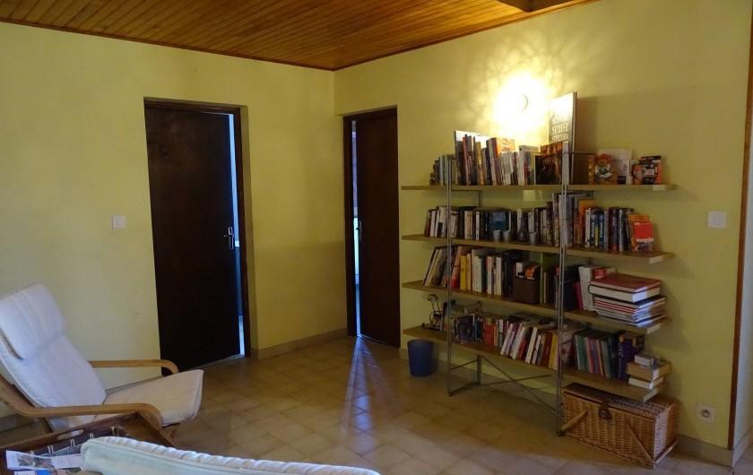 Location de vacances - Chambre d'hôtes à Louslitges - Espace détente