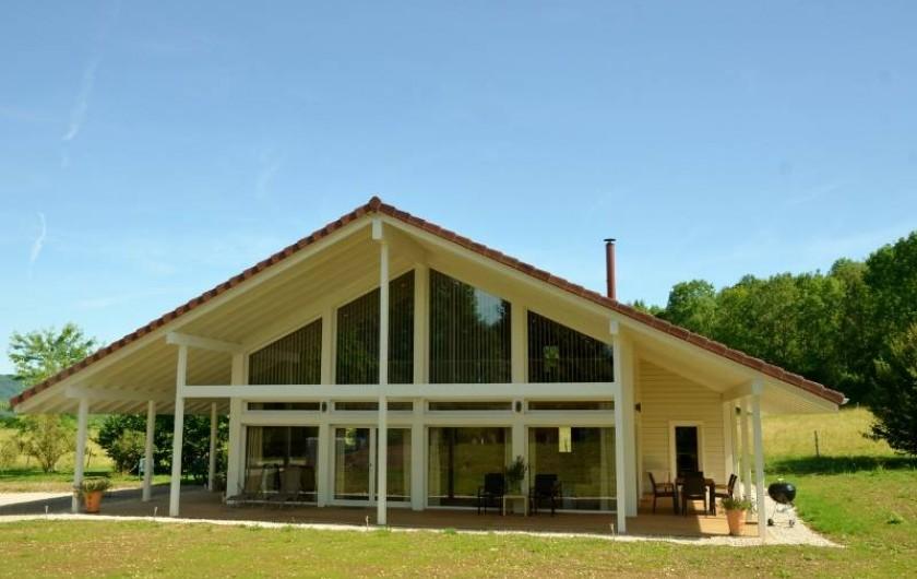 Location de vacances - Chalet à Marigny - chalet bien-être 150m2