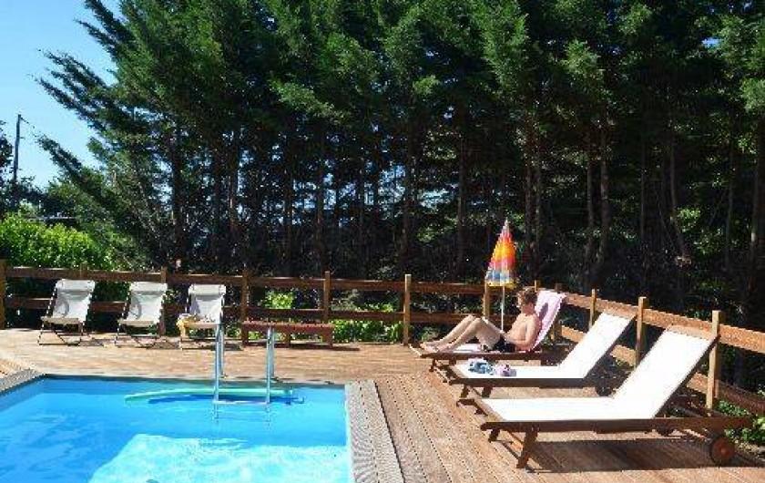 Location de vacances - Roulotte à Chomérac