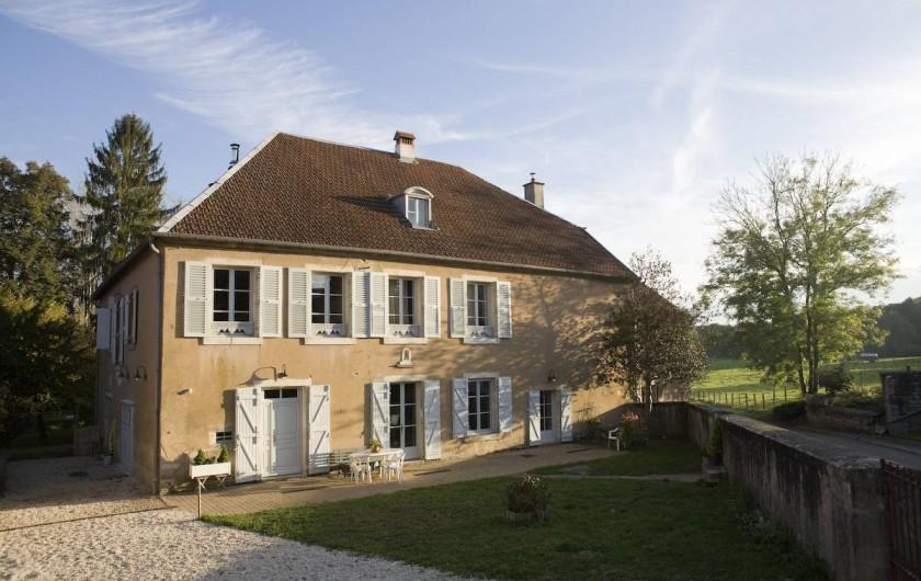 Location de vacances - Chambre d'hôtes à Cenans - Maison d'hôtes de charme datant du XVIIIè