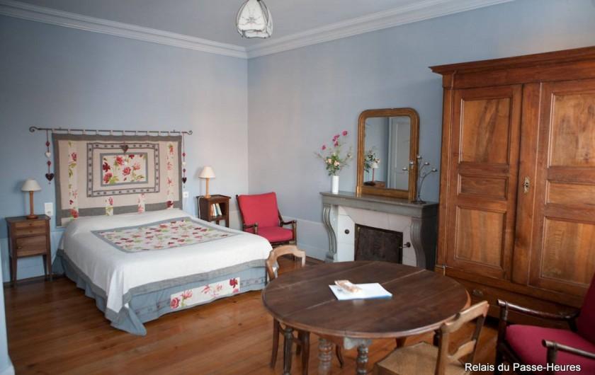 Location de vacances - Chambre d'hôtes à Cenans - Chambre de Marie