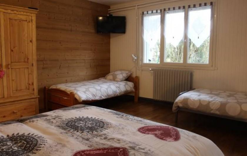 Location de vacances - Gîte à Sirod - Chambre au RDC