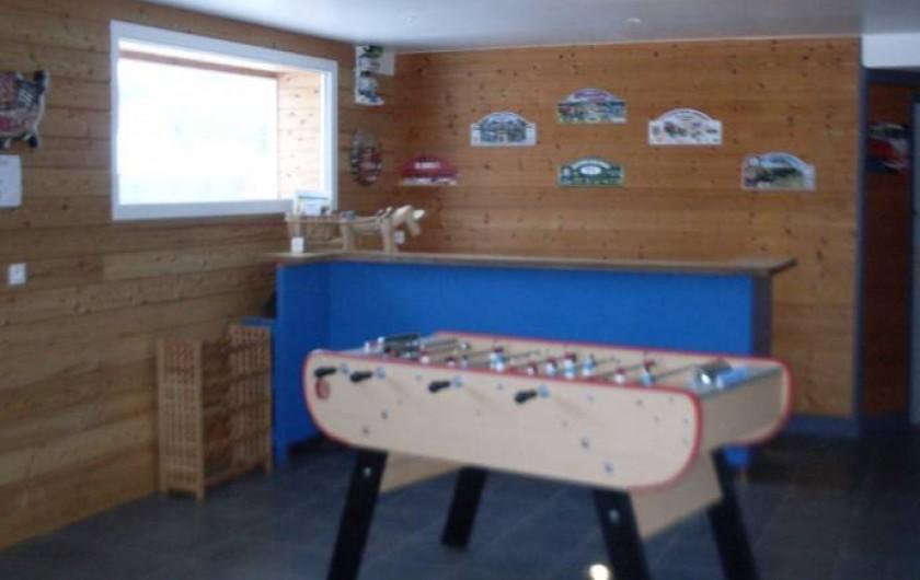 Location de vacances - Gîte à Sirod - Salle de jeux