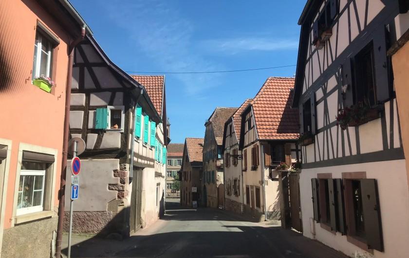 Location de vacances - Gîte à Bœrsch
