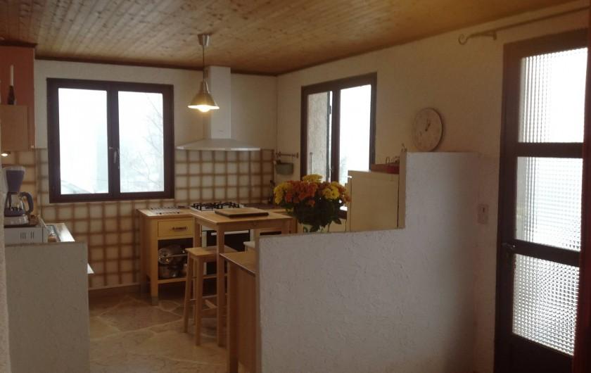 Location de vacances - Chalet à Bonlieu - Cuisine