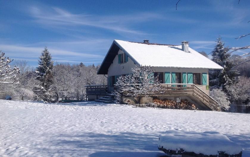 Location de vacances - Chalet à Bonlieu - L'hiver