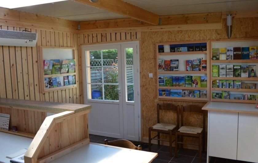 Location de vacances - Bungalow - Mobilhome à Aire-sur-la-Lys - Information et documentation touristique disponible à l'accueil