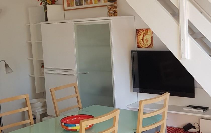 Location de vacances - Villa à Saint-Cyprien Plage - 2ème vue du séjour