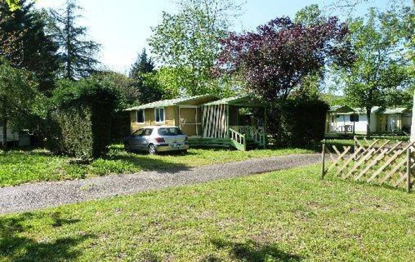 Location de vacances - Chalet à Monceaux-sur-Dordogne