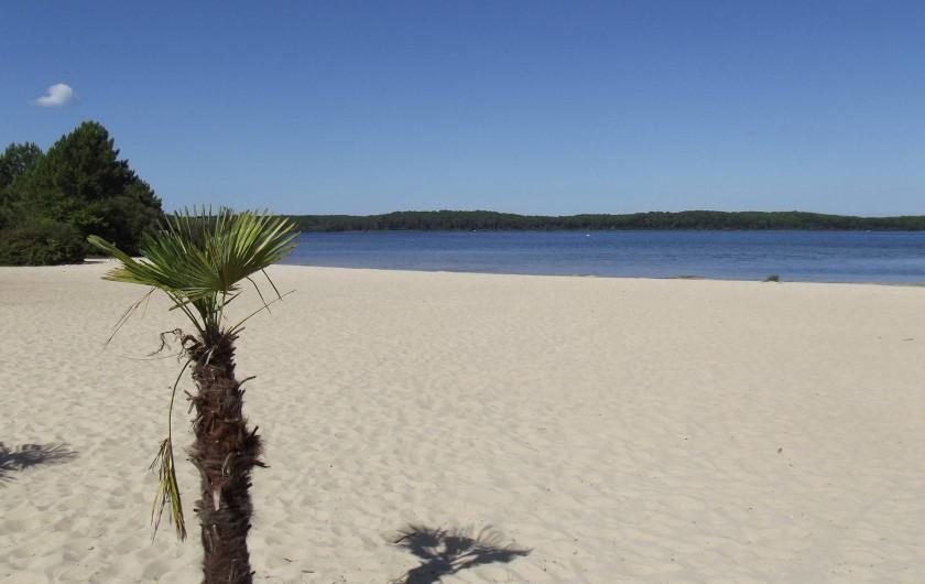 Location de vacances - Bungalow - Mobilhome à Gastes - PLAGE ET LAC DE BISCAROSSE