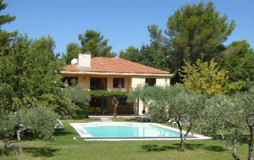 Location de vacances - Villa à Simiane-Collongue