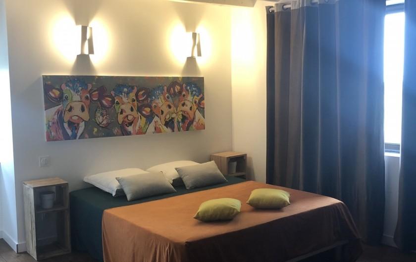 Location de vacances - Gîte à Vendine - Chambre 5 avec douche et WC