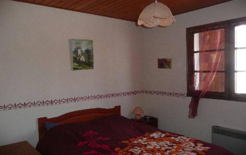 Location de vacances - Villa à La Tranche-sur-Mer - Chambre  1