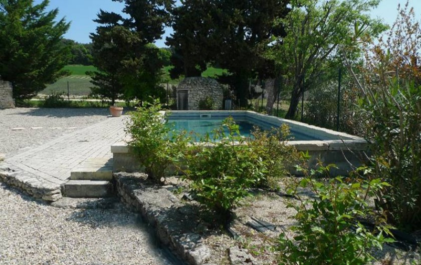 Location de vacances - Mas à Clansayes - piscine privative